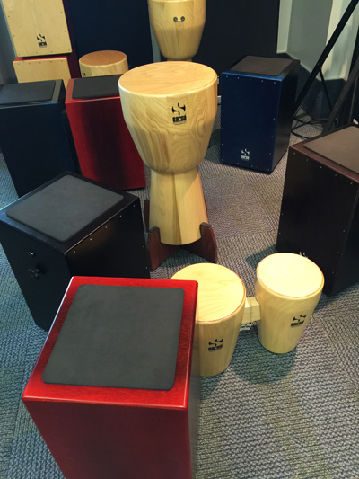 NAMM2015 – Sarga Percussion at Godin