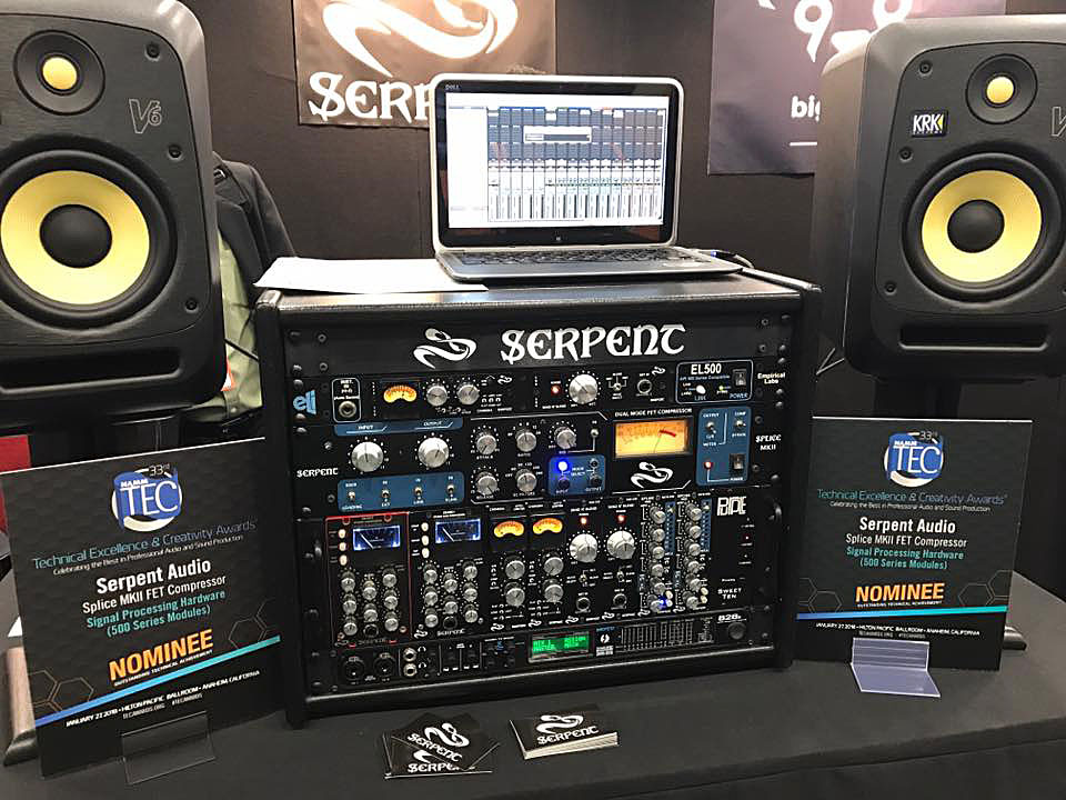 2018NAMM Show – Serpent Audioのブースへ