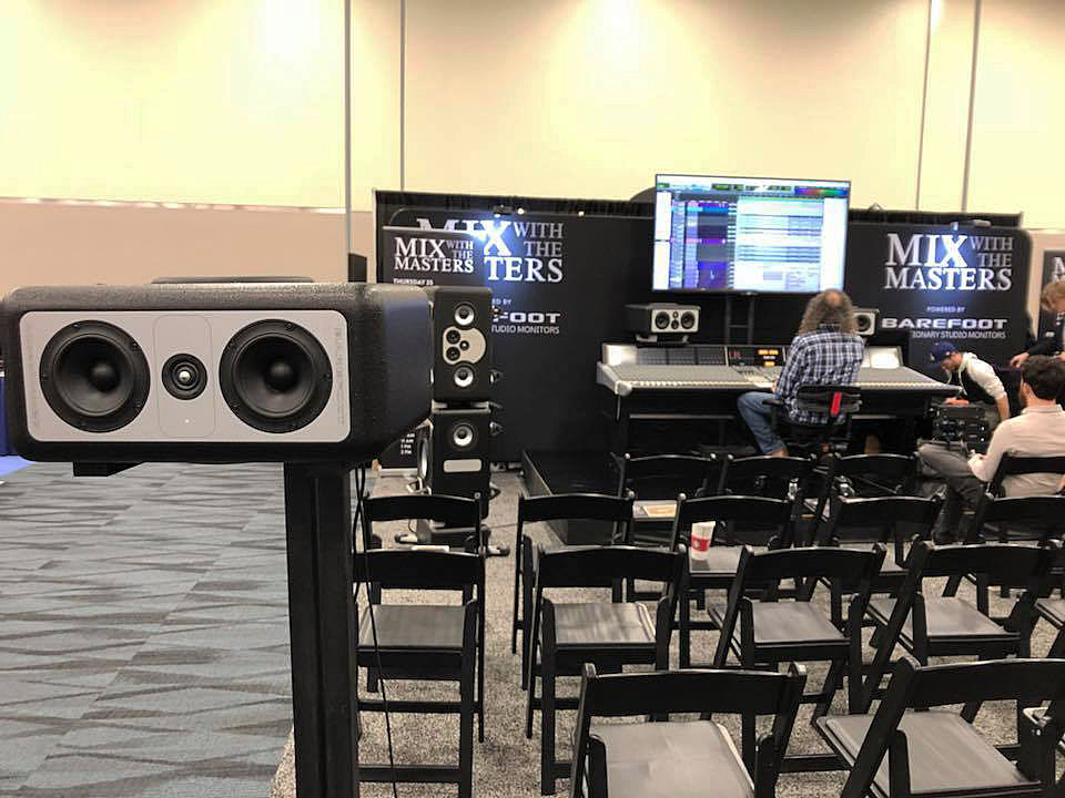 2018NAMM Show – MIX WITH THE MASTERSのブースへ